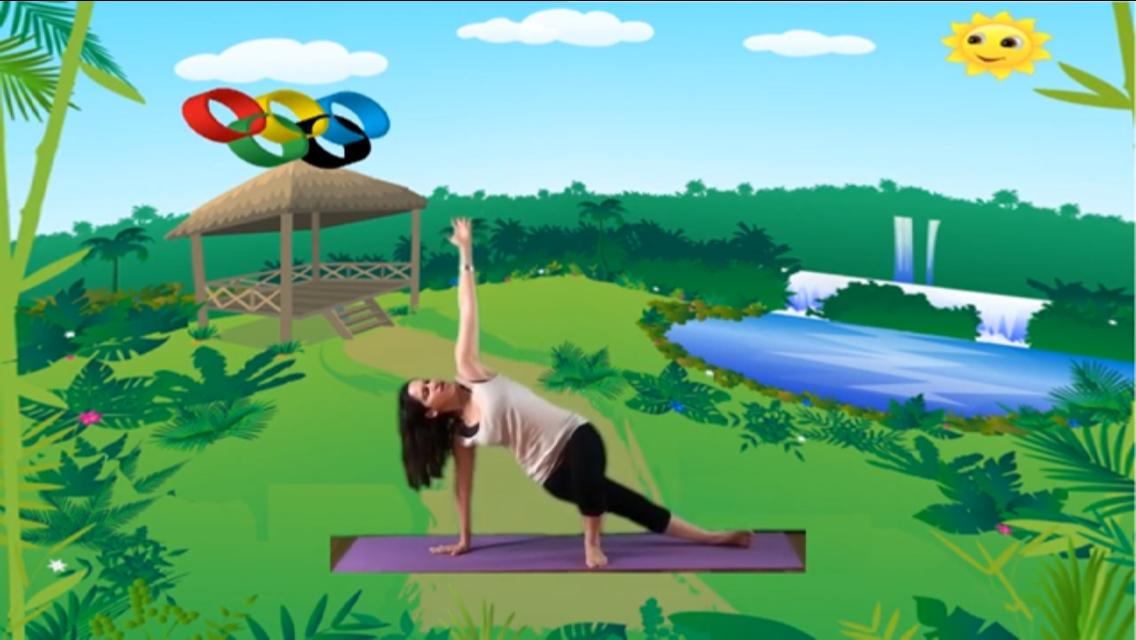 Yoga infantil y Educación física