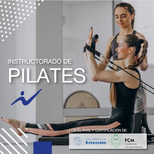 Instructor  en el  Método Pilates