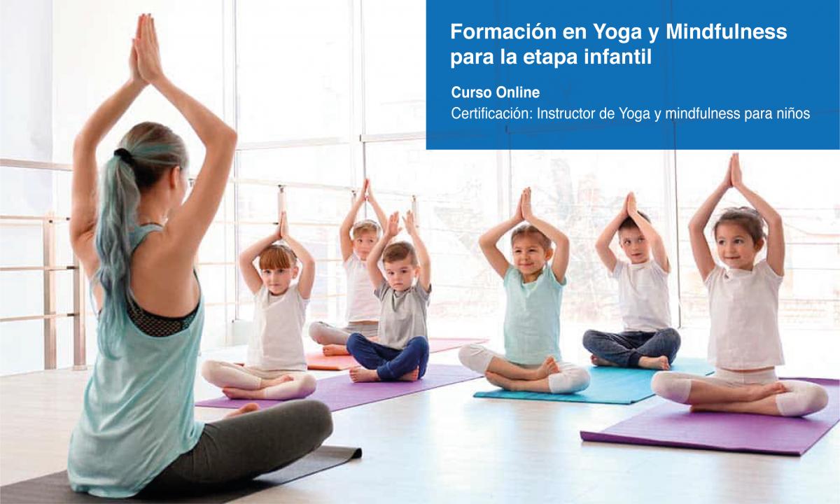 Formación en Yoga y Mindfulness en la etapa infantil