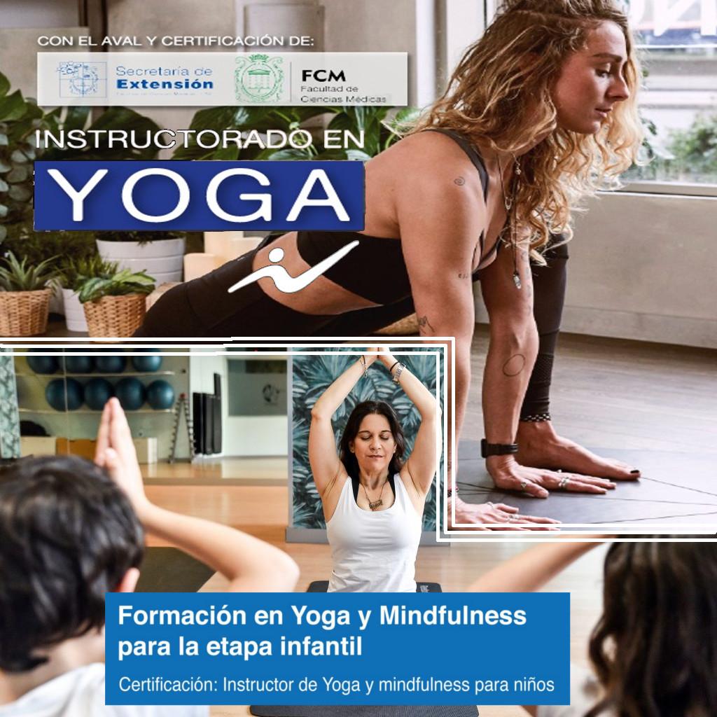 Formación online en Hatha Yoga para adultos y doble certificación con Yoga para niños