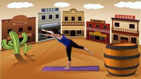 Superhéroes en el viejo oeste  ( Yoga para niños – Cuento con Yoga)