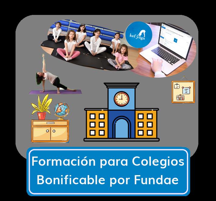 Formación para Colegios bonificada por Fundae