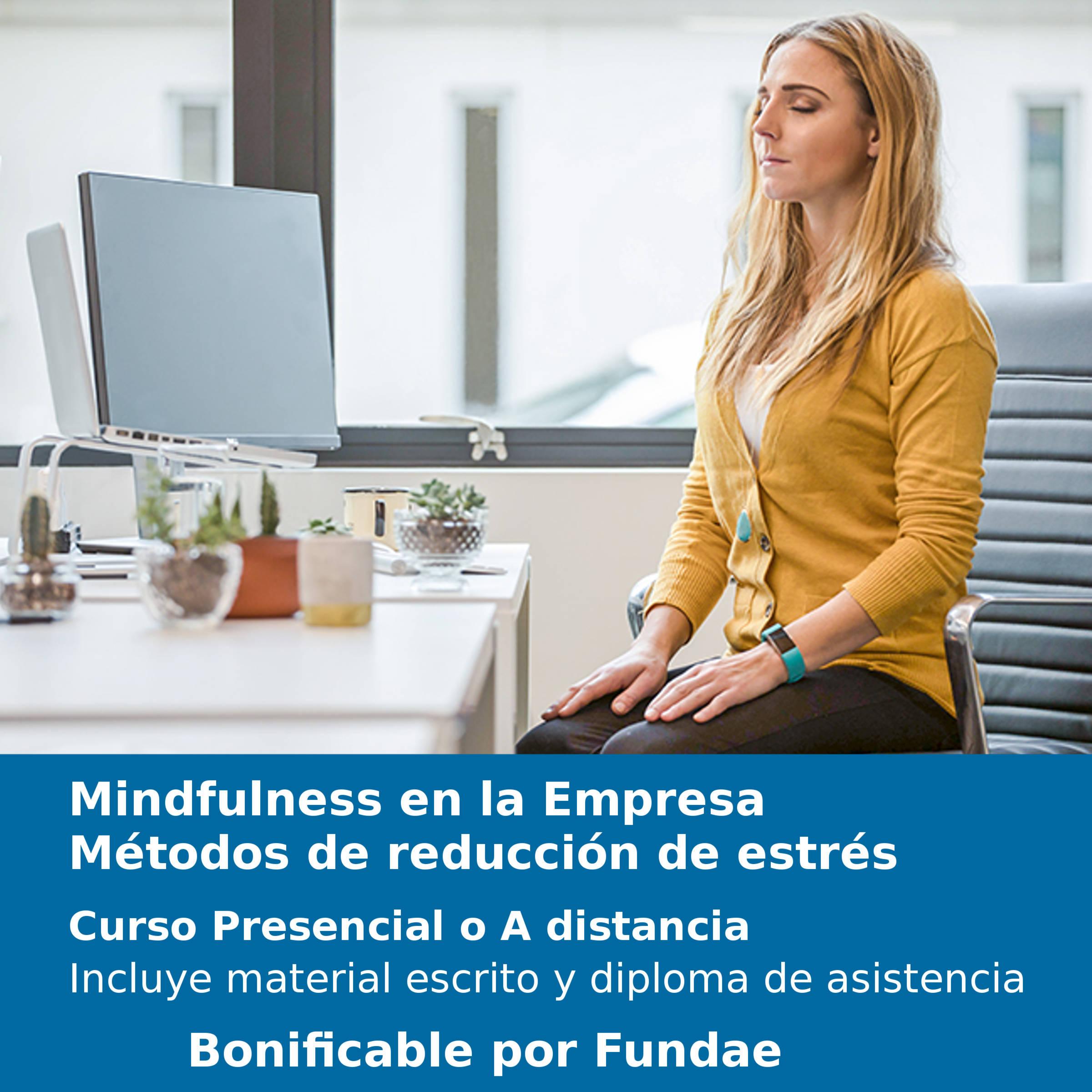 Mindfulness en la Empresa. Métodos de reducción de estrés.