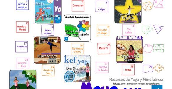 Tu calendario de Kef Yoga  para Mayo 2021