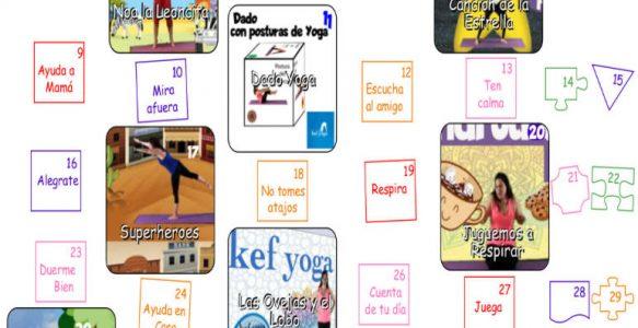 Calendario Kef Yoga Agosto 2021